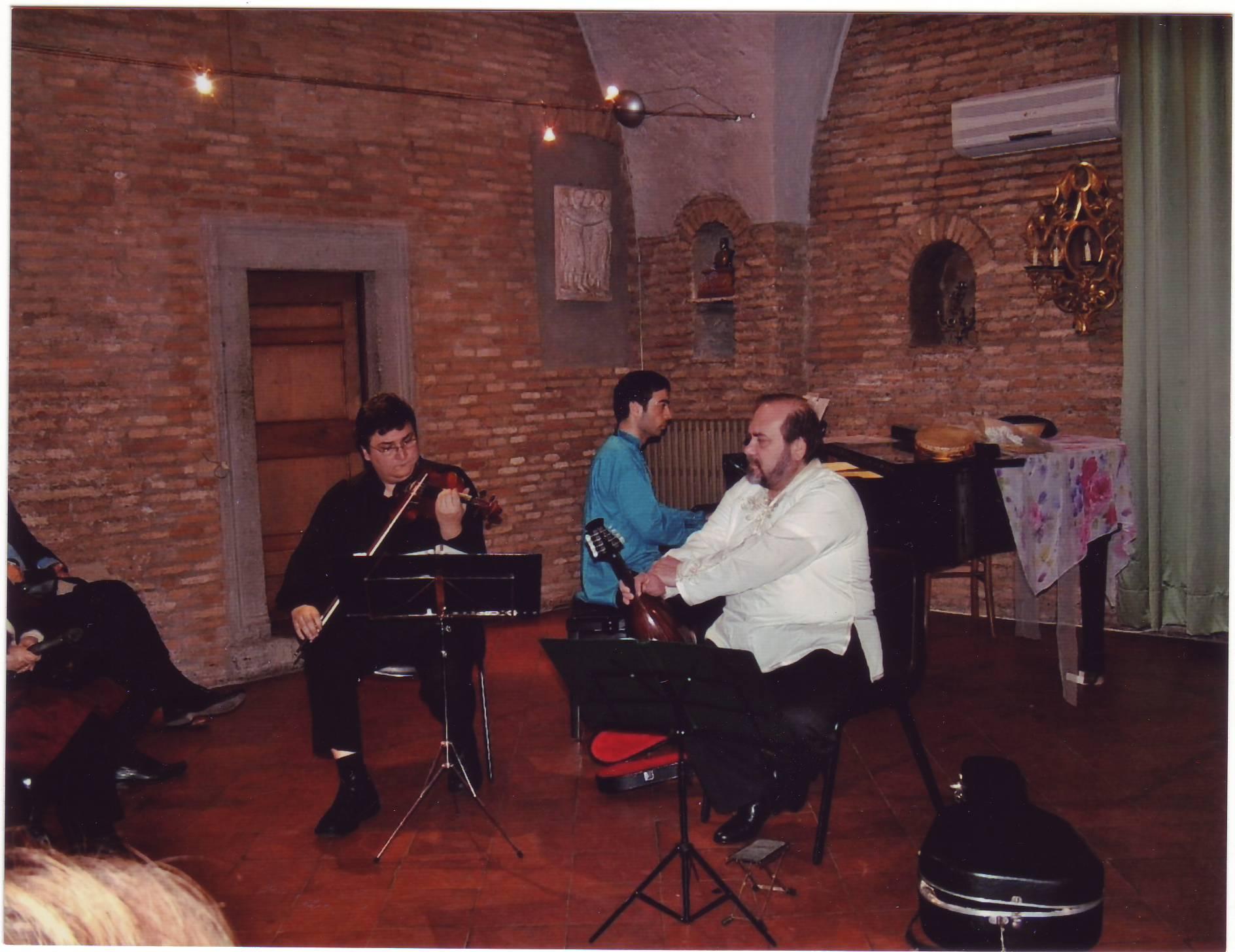 canzone napoletana 2007 musicisti