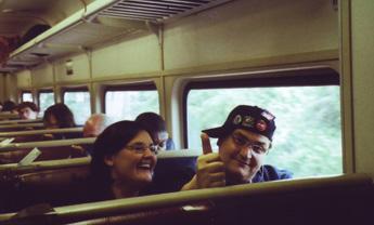 sul treno da Albany a New York-2008