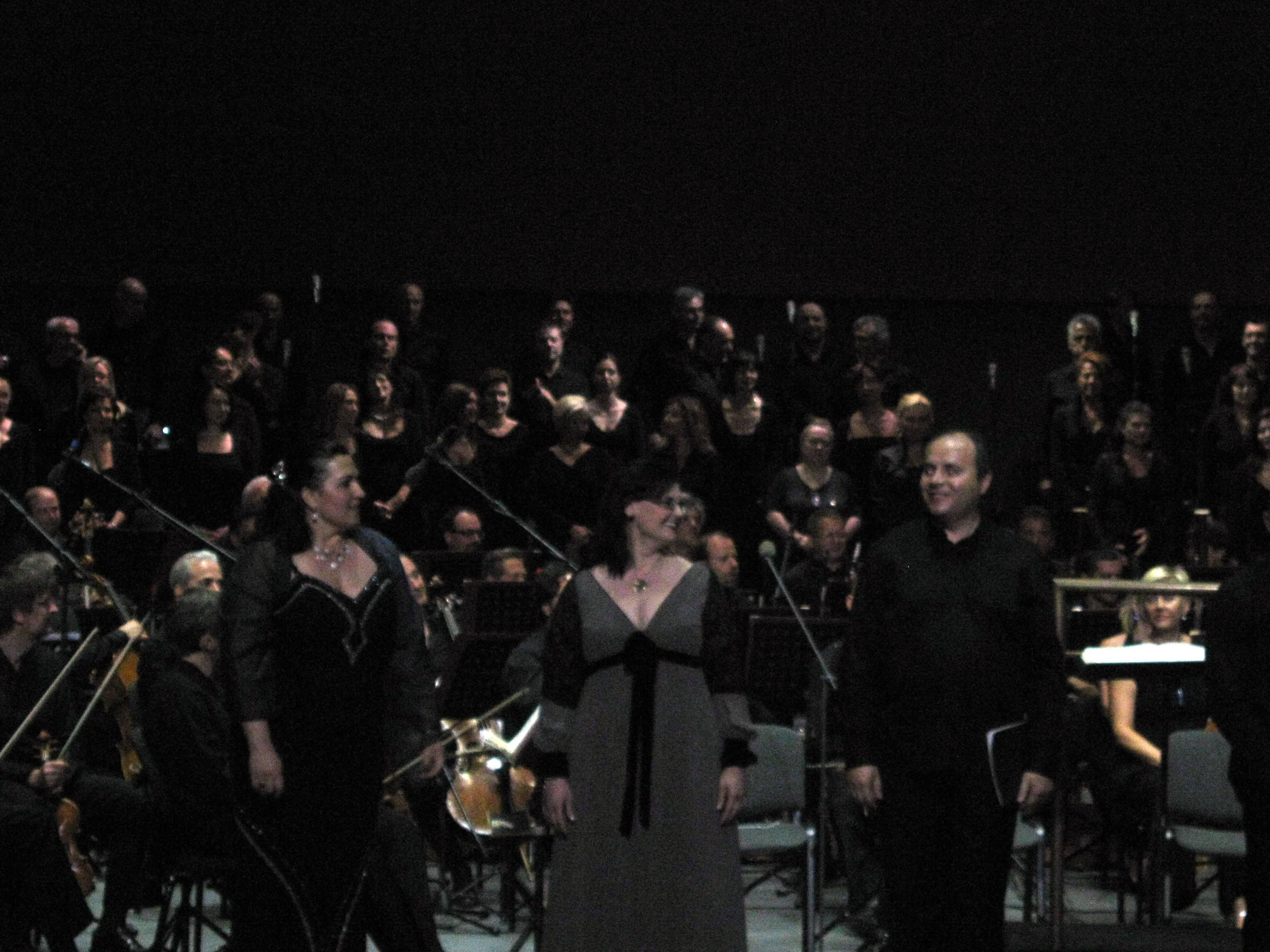 Auditorium 19 lug 2012 solisti Sinfonia n.9 di Beethoven (6