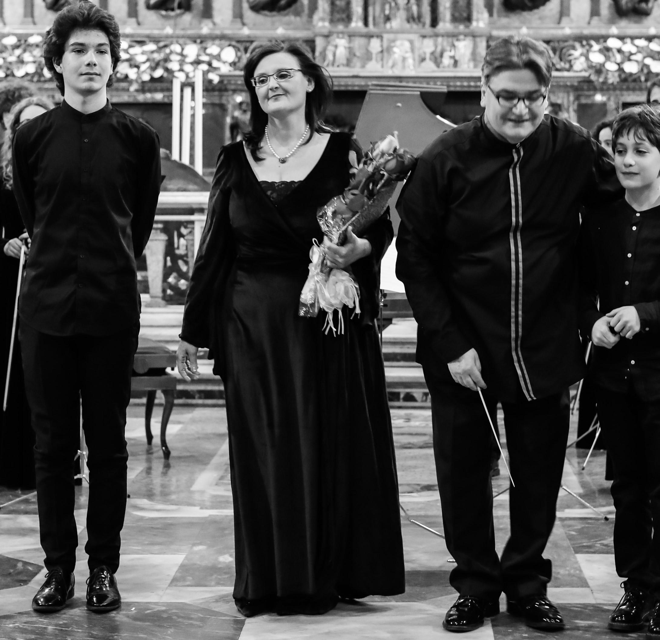 Roma Youth String Orchestra @ Gesù Nuovo di Napoli © Marco Baldassarre-154