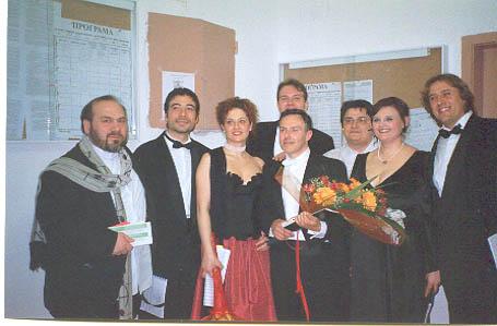 Concerto Sofia 2004-foto di gruppo