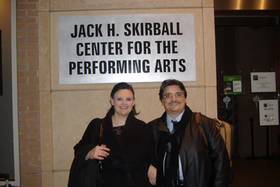 concerto Skirball Center-NY 2008