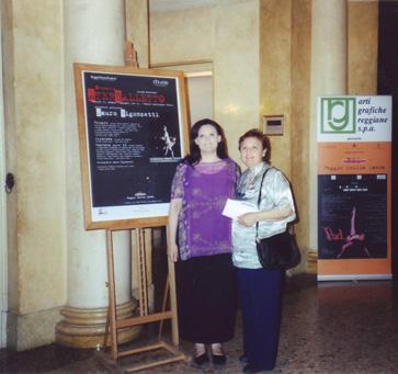 Reggio Emilia-Vespro-con la mia mamma
